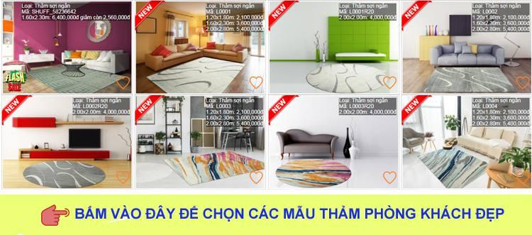 xem thêm bộ sưu tập các mẫu thảm phòng khách