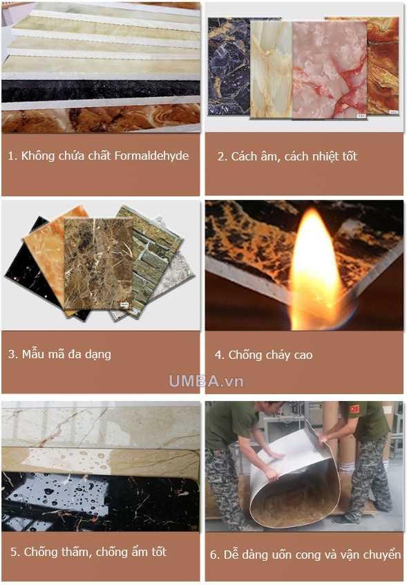 Một số ưu điểm tấm nhựa ốp tường pvc