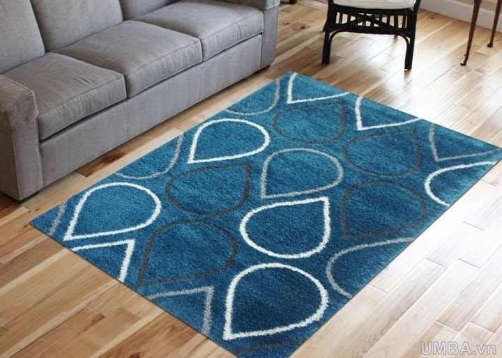 mẫu thảm phòng khách phòng ngủ lông xù nhập khẩu