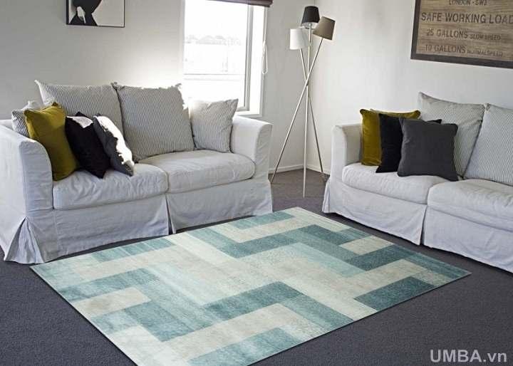 mẫu thảm phòng khách phòng ngủ sợi ngắn, giá rẻ