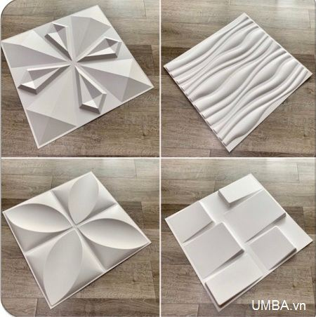Tấm ốp tường 3d nhựa PVC
